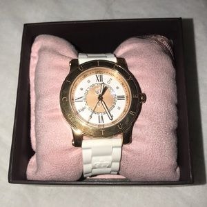 White and rose gold juicy couture watch!!!